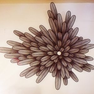 WALL FEATHER M0061-2
