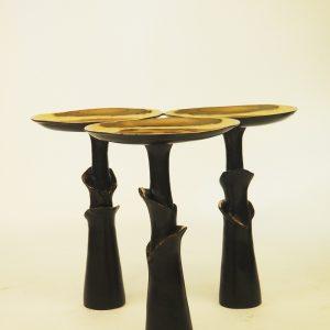 SADDLE SIDE TABLE FURNITURE